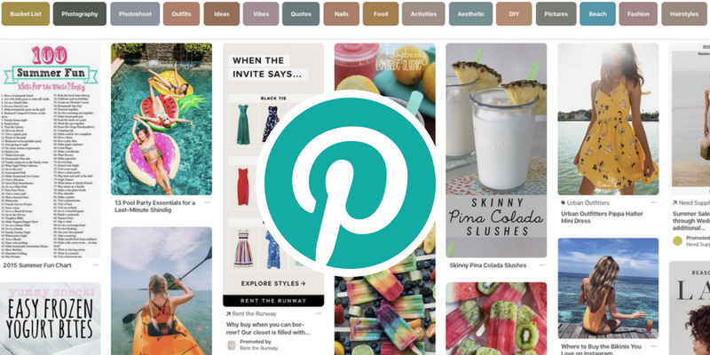 Pinterest Trends July 2018