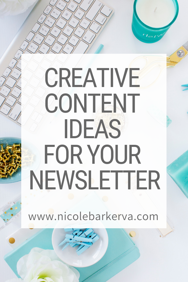 Creative Content Ideas for your Newsletter
