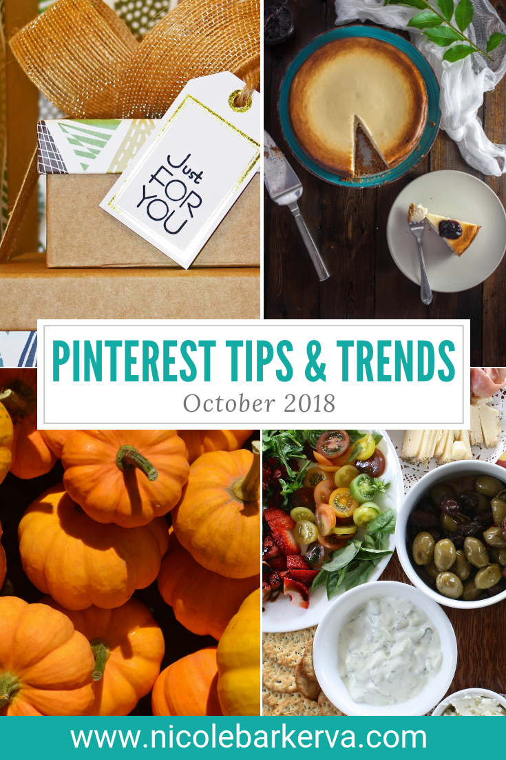 October 2018 Pinterest Tips and Trends