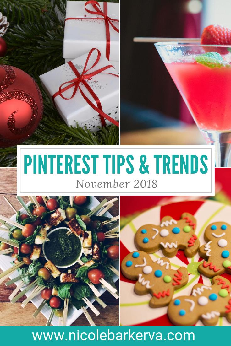 November Pinterest Tips and Trends