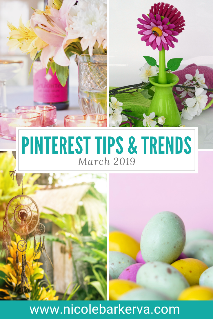 Pinterest Tips and Trends March 2019