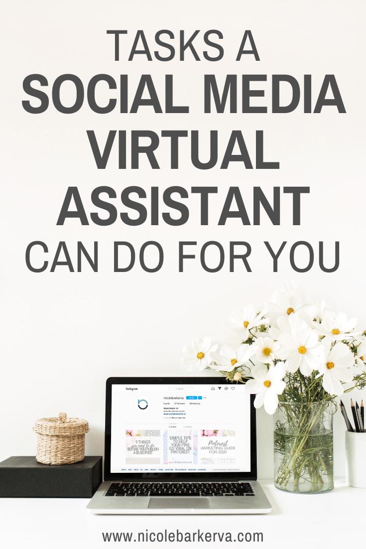Social Media VA Tasks