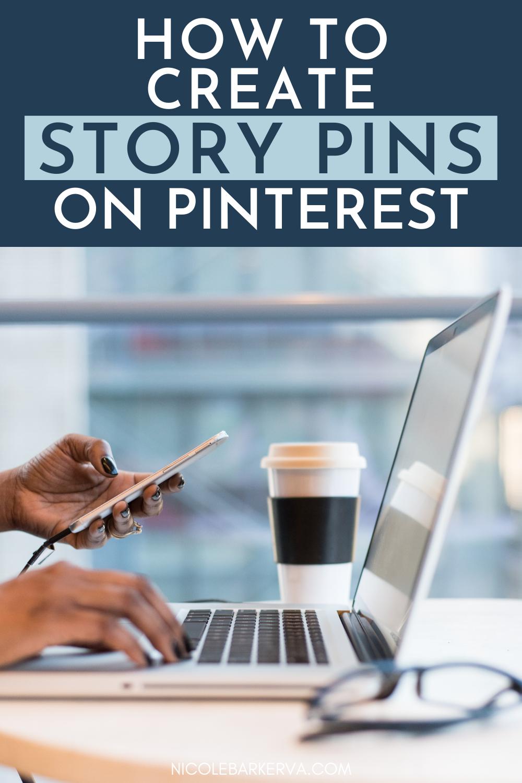 Nicole Barker Creating Story Pins