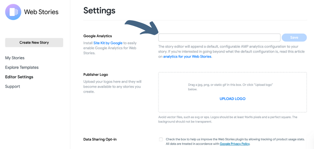 How to Make a New Google Profile for Google Stories in Google Analytics