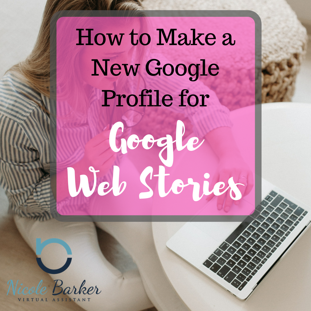 New Google Profiel Google Web Stories